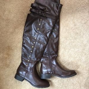 Over The Knee Riding Boots *NEVER WORN*